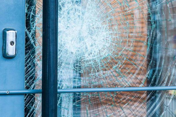 security/anti-graffiti films bend or
